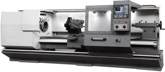 New Ajax Flat Bed CNC / Semi-CNC Lathes